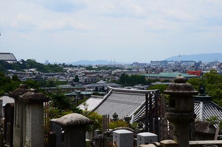 墓地からの眺め