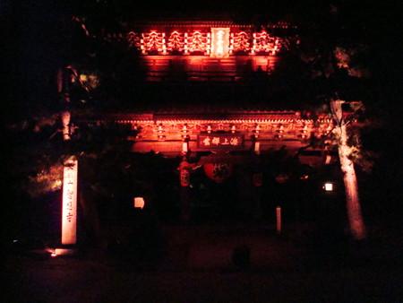 智恩寺のライトアップ