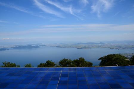 びわ湖テラスからの眺め