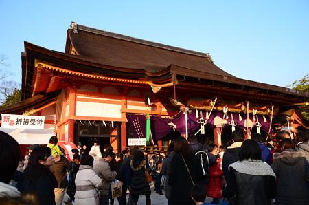 初詣風景@八坂神社