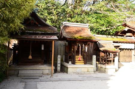 琴平神社、繁盛稲荷社、少将井社