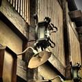 写真: 昭和の街灯
