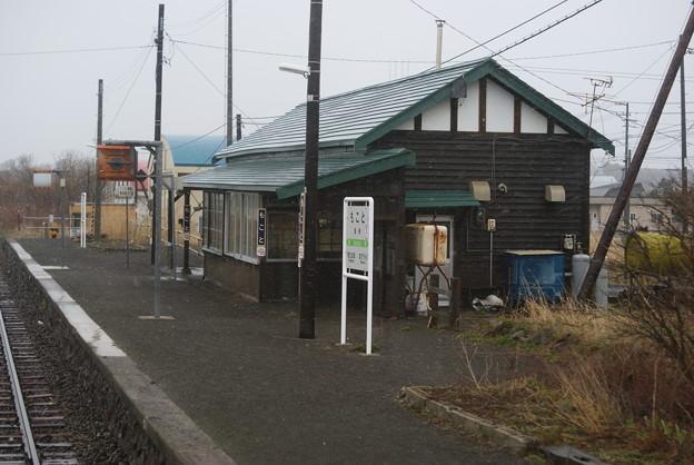 写真: 藻琴駅
