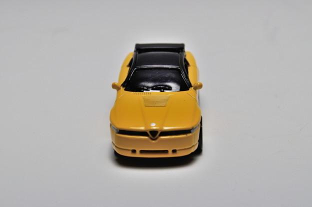 ジョージア-京商_ジョージアオリジナル ヨーロッパ名車シリーズ アルファ ロメオ x 京商歴代名車コレクション Alfa Romeo SZ(1989)_004
