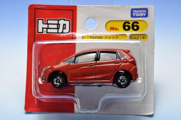 タカラトミー_トミカ No.66 Honda フィット_001