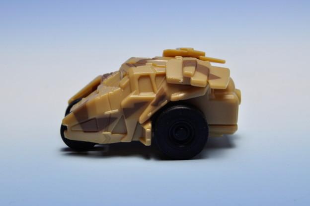 サントリーボス_バットマン ビークルコレクション プルバックカー 4th BATMOBILE Production model_003