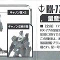 バンダイ_ガンダムコレクションVol.6 機動戦士ガンダム0080 ポケットの中の戦争 RX-77D 量産型ガンキャノン MASS PRODUCED GUNCANNON_007