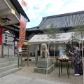 志紀長吉神社とんど焼き