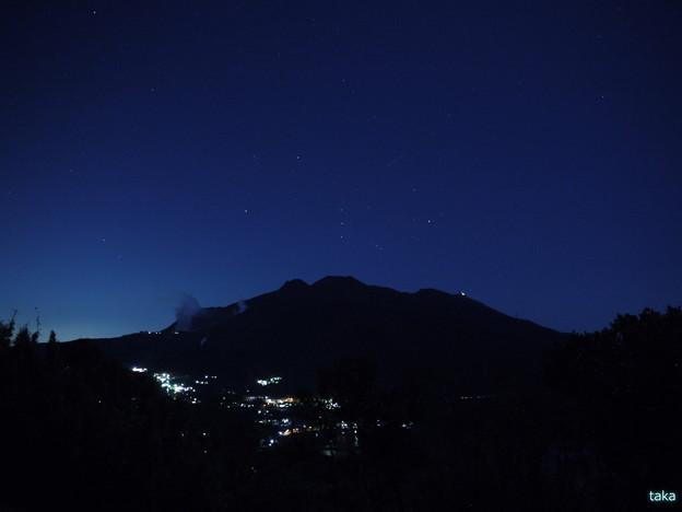 箱根山の夜景
