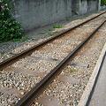 写真: 江ノ電の線路
