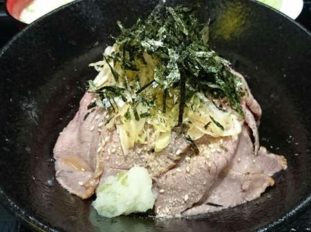 ローストビーフ丼2