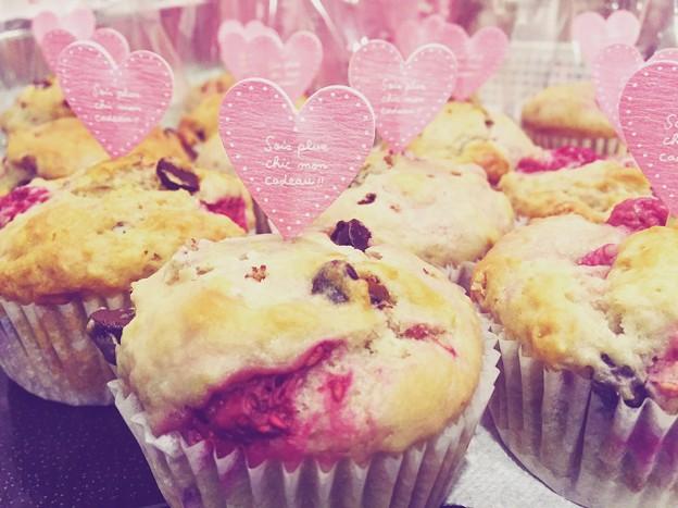 Valentines day Muffins♪