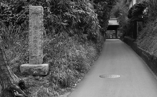 瑞泉寺前。。