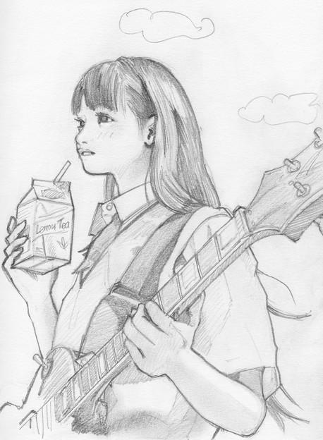 戯れ筆03