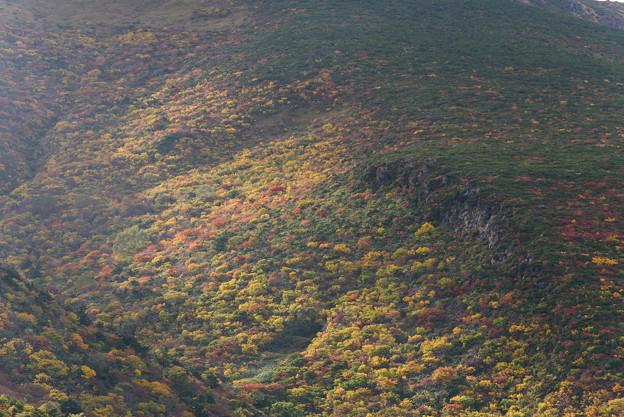 安達太良山の紅葉20161010