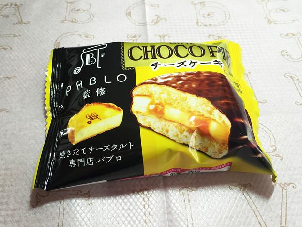 『ロッテ』の「パブロ監修チョコパイチーズケーキ」02