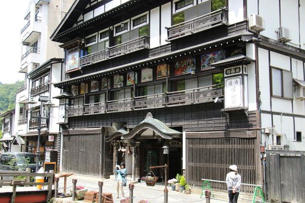銀山温泉にて (2)