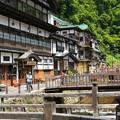 銀山温泉にて (5)