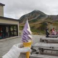 みくりが池温泉のソフトクリーム