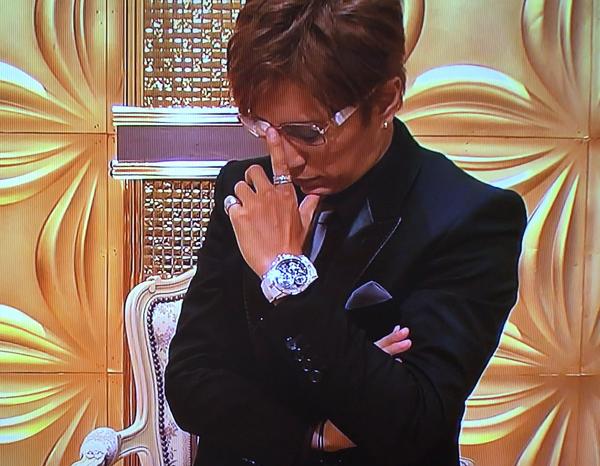 【動画】GACKTが「芸能人格付けチェック」2017に6000万円の「ロジェ・デュブイ」を着用して出演!