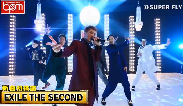 【動画】AbemaTV「EXILE THE SECOND」が新曲「SUPER FLY」を超先行で初披露!