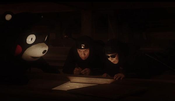 Photos: 【動画】プレボスの新CMでタモリ&くまモンが初共演!築城前にタイムスリップして屋根裏に!