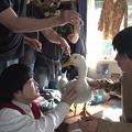 Photos: 【動画】アフラック新CM撮影で加藤諒と野村周平がアフラックダックに興味津々「かわいい!」とメロメロ!