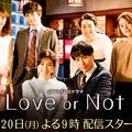 Photos: 山下健二郎の初主演ドラマ「Love or Not」ヒロインは誰?あらすじやキャストも!dTv×FOD「月9」