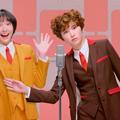 Photos: ガッキーが明治チョコ新CMでカーリーヘアに! 一人二役&関西弁で漫才に挑戦