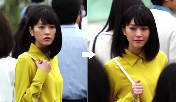 【動画】桐谷美玲コンタクトの新CMでみせた「無言の演技」に感動!