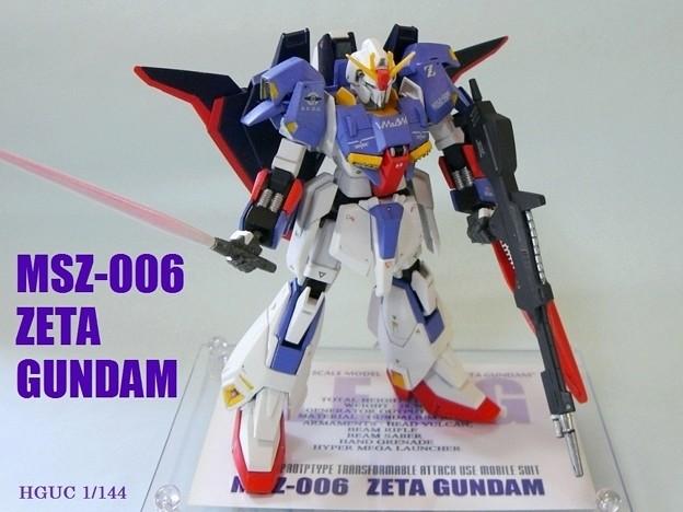 7-1 ゼータガンダム HG. MSZ-006