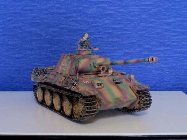 Photos: 15 パンサー(ドイツ中戦車 1;35  tamiya '16.10.