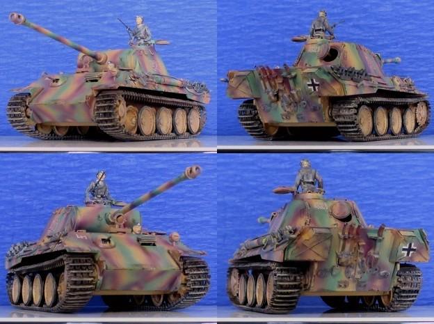 Photos: 13 パンサー(ドイツ中戦車 1;35  tamiya '16.10.