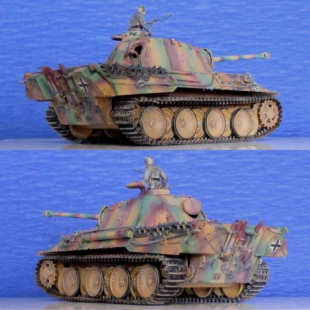 12 パンサー(ドイツ中戦車 1;35  tamiya '16.10.