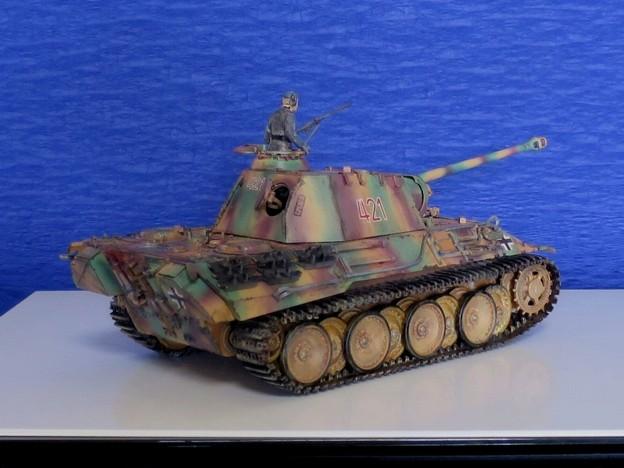 Photos: 09 パンサー(ドイツ中戦車 1;35  tamiya '16.10.