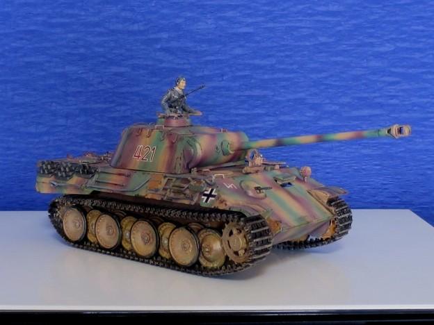 06 パンサー(ドイツ中戦車 1;35  tamiya '16.10.