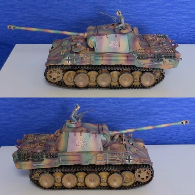 05 パンサー(ドイツ中戦車 1;35  tamiya '16.10.