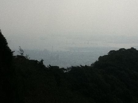 20111010神戸の街を見下ろして