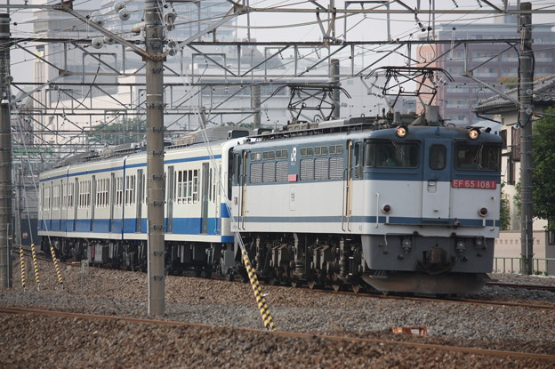 EF65-1081+伊豆箱根鉄道1300系1302F