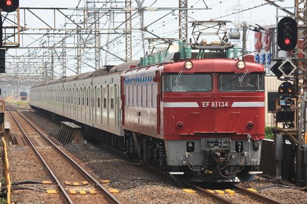 EF81-134+203系100番台マト69編成