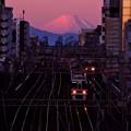 写真: 幡ヶ谷陸橋から
