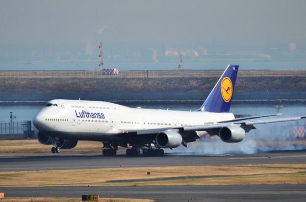 ルフトハンザ航空 B747
