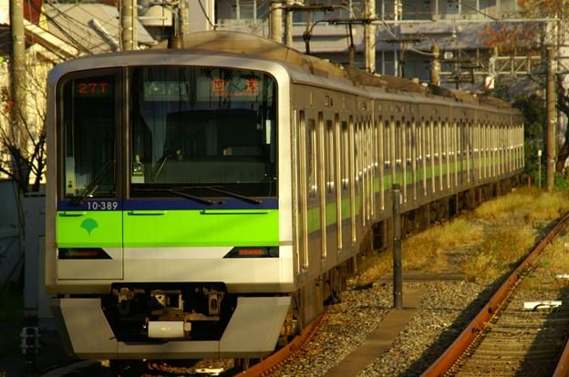 運休の関係で桜上水駅に留置されたままとなった都営車