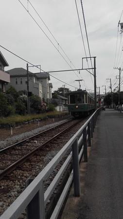 江ノ電@鵠沼付近