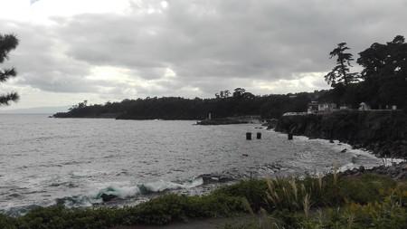 城ヶ島海岸 雲行きが怪しい