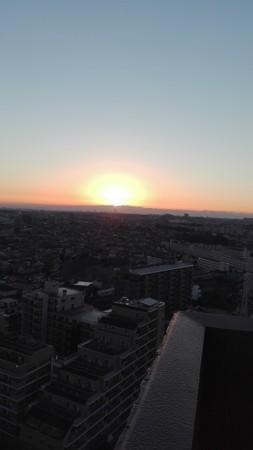 日の出の始まり
