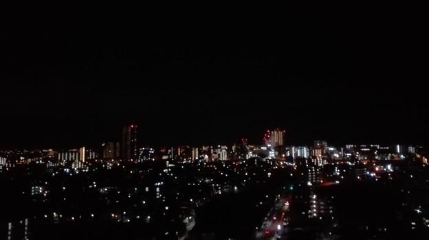 夜景 こんなに明かりが相模原