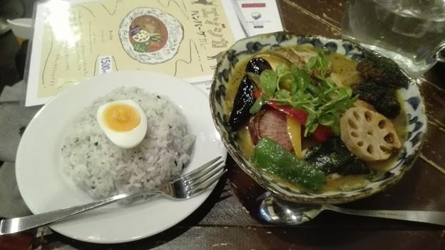 野菜がたっぷり入ったカレー@ポニピリカ 町田