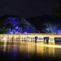 嵐山花灯路_渡月橋