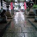 写真: 雨上りの鎮守さま